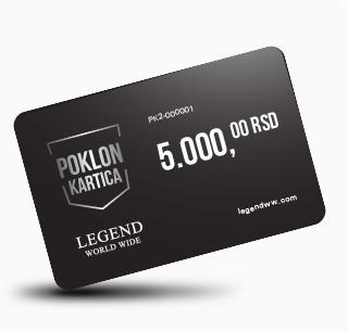 Poklon kartica 5000 dinara!