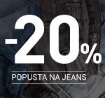 -20% popusta na jeans pantalone