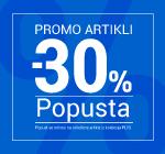 Promo artikli -30%