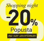 Shopping night Niš Kalča