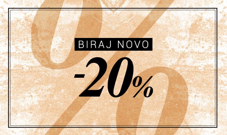 BIRAJ NOVO -20%