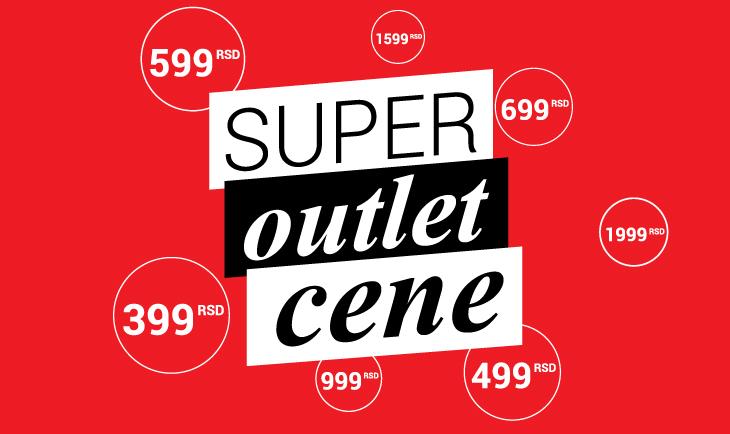 Super outlet cene!!!