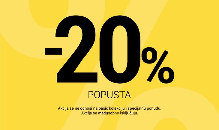 Vikend akcija -20%