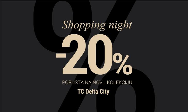 Shopping night Delta city