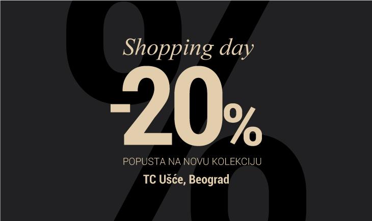 Shopping day TC Ušće