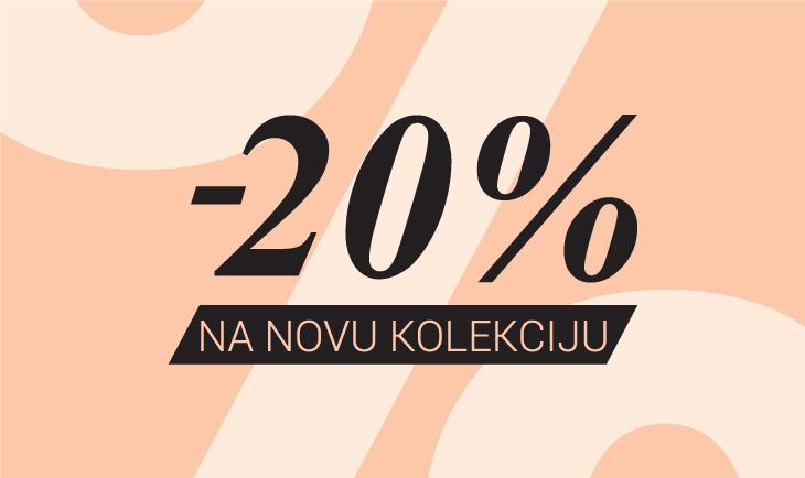20% popusta na kolekciju proleće/leto 2021.