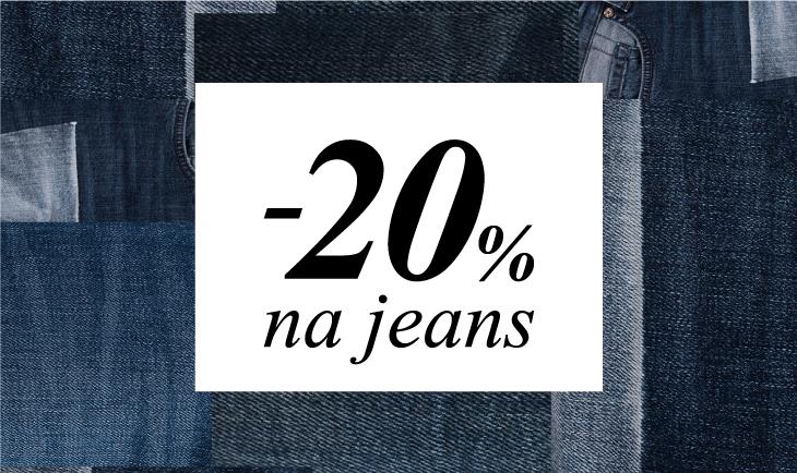 20% na sve jeans proizvode