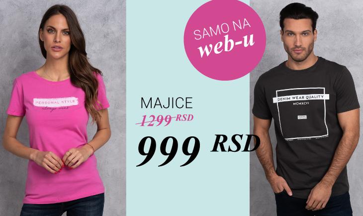 Majice 999rsd samo na web-u!