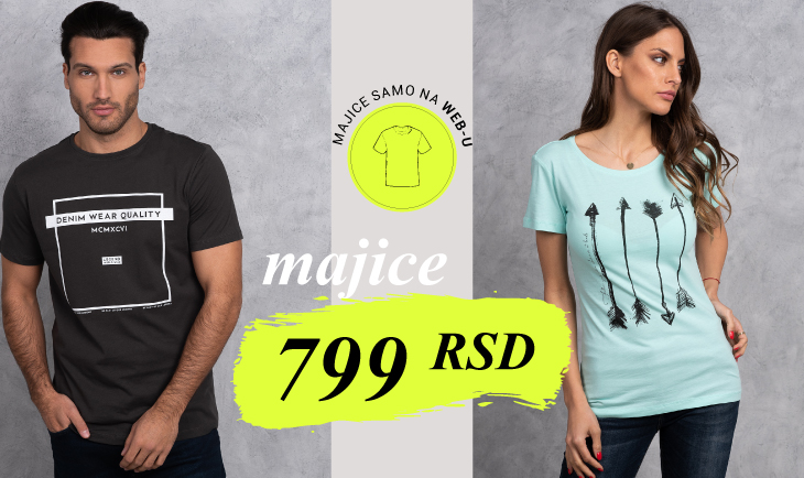 Samo na web-u majice 799rsd!