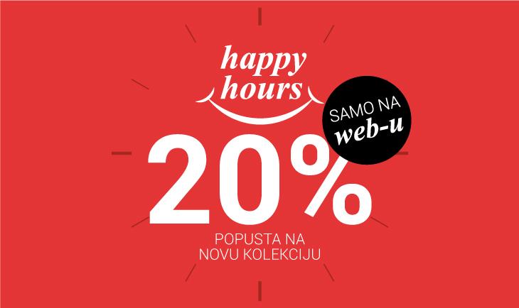 Happy hours samo na web-u!