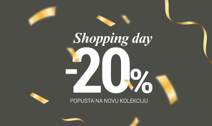 20% popusta povodom Shopping dana!