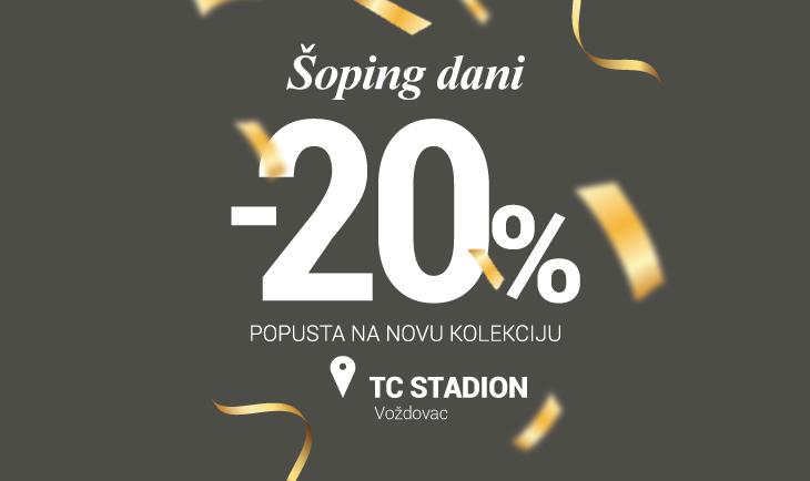 Shopping dani u Stadionu!