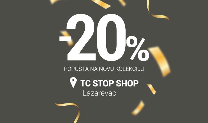 TC Stop Shop Lazarevac rođendanski popust!