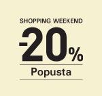 Shopping Weekend -20% Jagodina