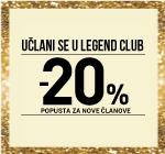 LEGEND CLUB AKCIJA