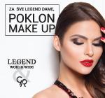 Legend & Golden Rose poklon make up