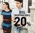Big shopping days -20% popusta