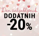 DAN ZALJUBLJENIH  - 20%