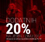 Dodatnih -20% samo na WEB-u