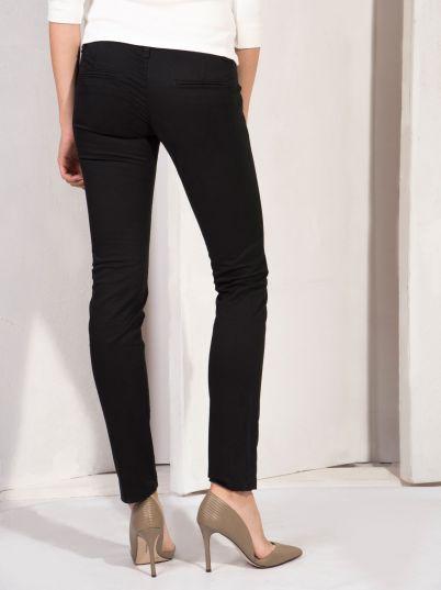 Crne ženske pantalone