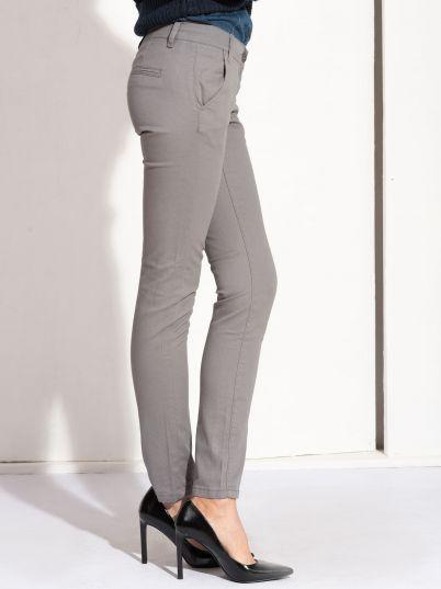 Ženske sive pantalone