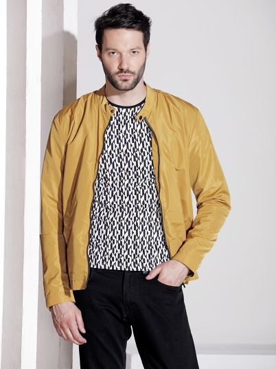 Žuta muška jakna