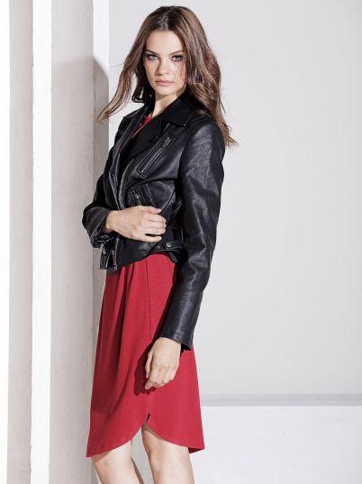 Crna ženska jakna