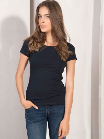 Teget ženska basic majica
