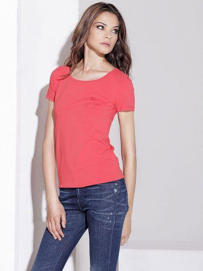 Crvena ženska basic majica