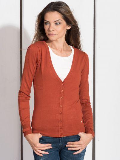 Basic narandžasti džemper
