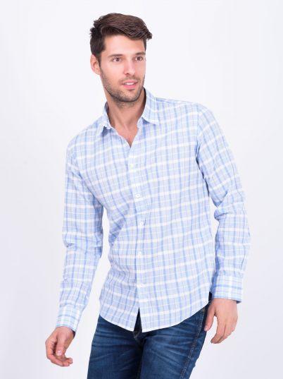 Plava muška košulja