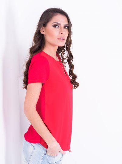 Ciklama ženska bluza