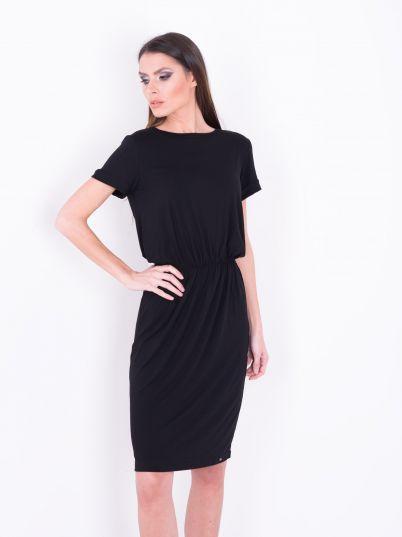 Crna haljina do kolena