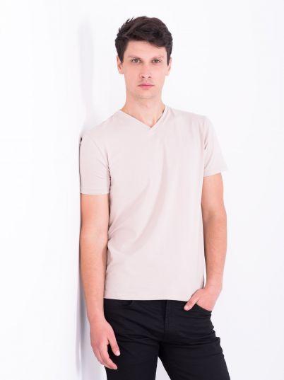 Basic majica V izrez