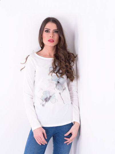 Majica sa floralnim printom