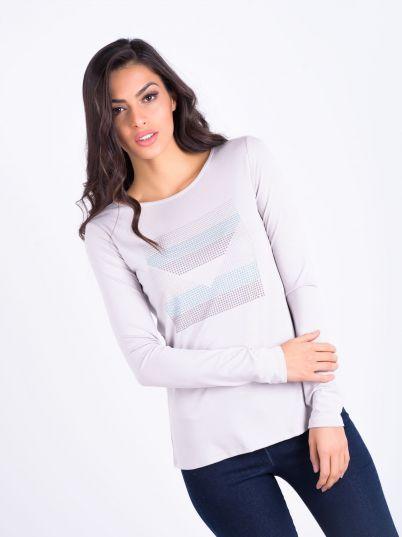 Siva elegantna majica