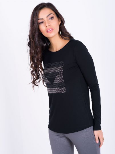 Crna elegantna majica