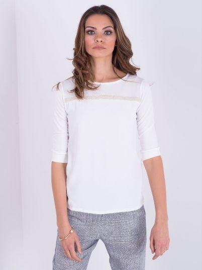 Elegantna bela majica