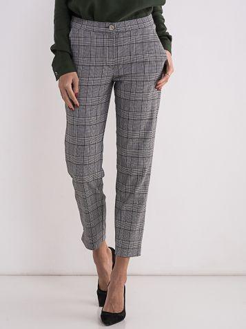 Ženske karirane pantalone