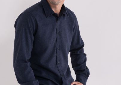 Teget muška košulja