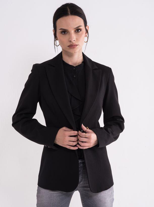Ženski crni sako