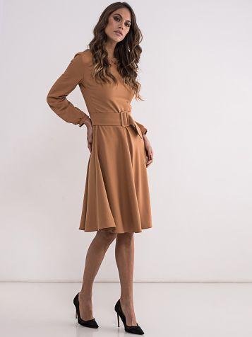 Haljina u drap_braon boji
