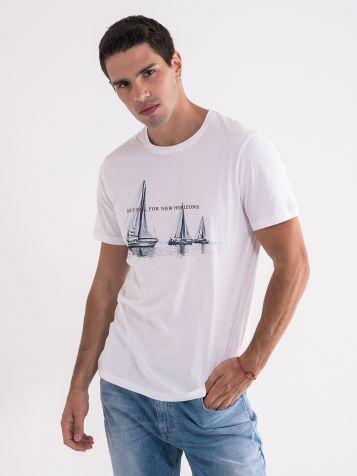 Majica sa jedrilicama