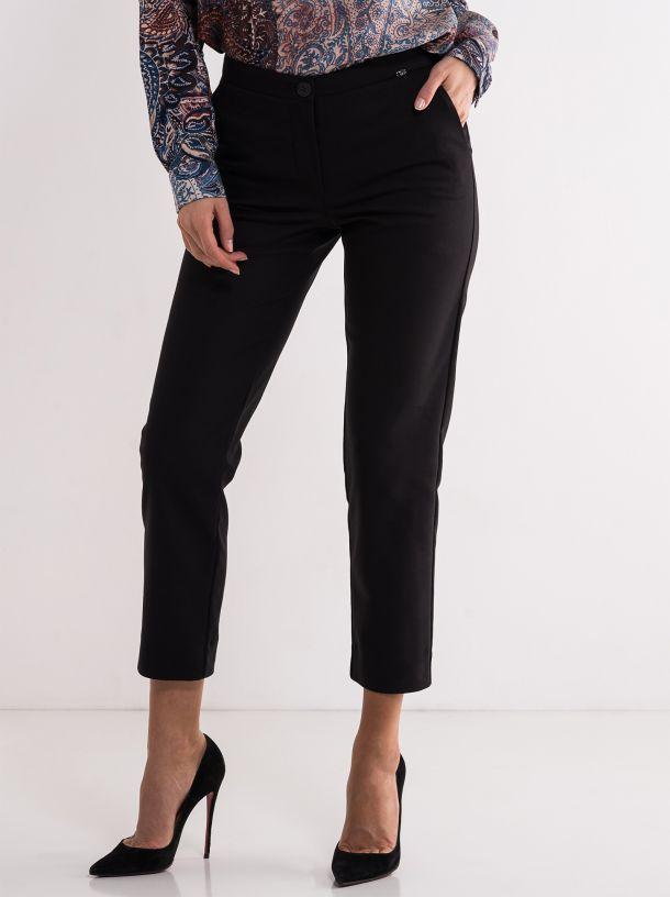 Crne poslovne pantalone