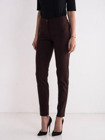 Poslovne bordo pantalone