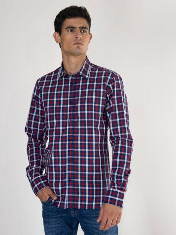 Pamučna karirana košulja