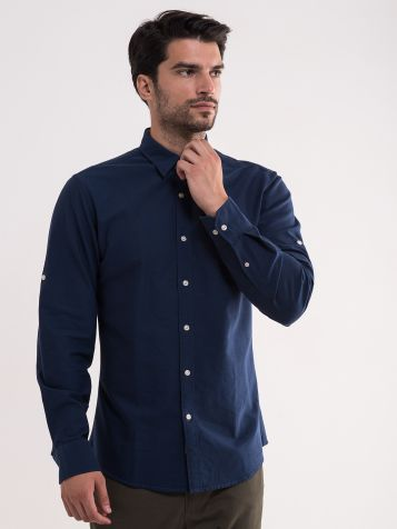 Muška teget košulja