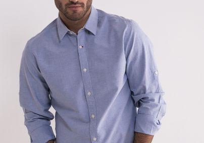 Pamučna svetlo plava košulja