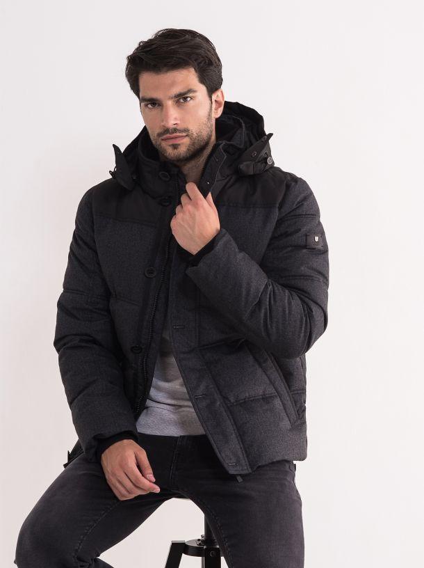 Muška siva jakna