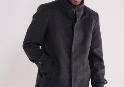 Muški tamno sivi kaput